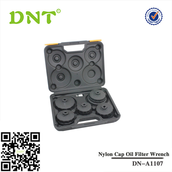 5Pc cap nylon chave do filtro de óleo ajustado