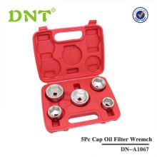 5Pc chave do filtro de óleo cap para Mercedes Benz, BMW, FORD