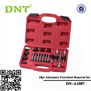 18pc Alternator Freewheel Removal Set
