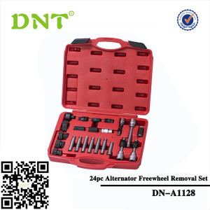 24pc Alternator Freewheel Removal Set