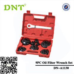 9PC Oil Filter Cap Wrench Set