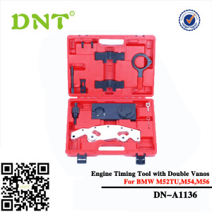 timing belt tensioner tool with Double Vanos for BMW M52TU,M54,M56