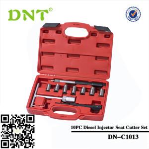 10PC Diesel Injector Seat Cutter Set