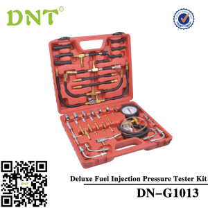 Deluxe Fuel Injection Pressure Tester Gauge Kit