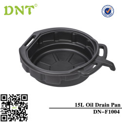 15 Litre Oil Drain Pan Tray With Pouring Lip