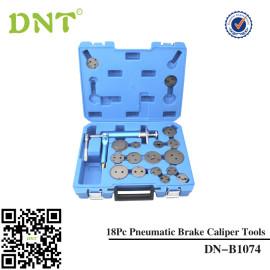 Air Brake Caliper Piston Compressor Master Tool Kit 18pc