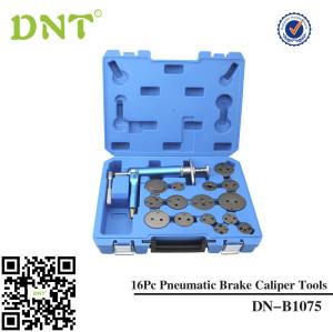 Air Brake Caliper Piston Compressor Master Tool Kit 16pc