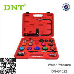 22Pcs Master Cooling System Detector And Radiator Cap Pressure Tester Temperature Tool Kit