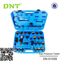 27Pcs Vacuum-Type Radiator Cap Pressure Tester Cooling System Tool