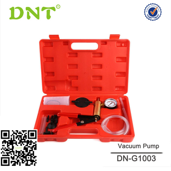 Hand Held Brake Bleeder & Vacuum Pump Test Kit Tools