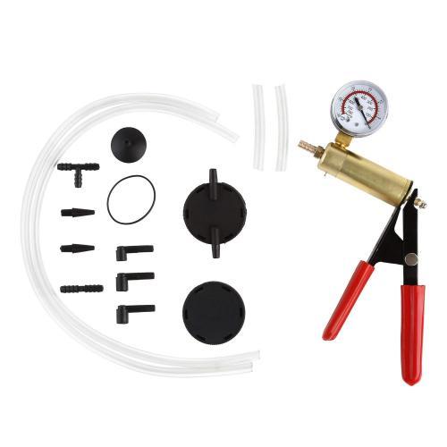 Hand Held Brake Bleeder & Vacuum Pump Test Kit Tools