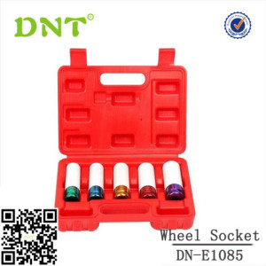 5pc Thin Wall Wheel Impact Socket Socket set