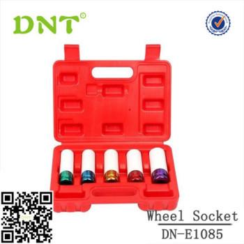 5pc Thin Wall Wheel Impact Socket Socket set