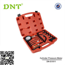 17pc Car Cylinder Pressure Meter Diesel Engine Compression Tester Testing Kit