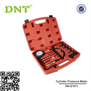 17pc Car Cylinder Pressure Meter Diesel Engine Compression Tester Testing Kit