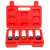 5PCS Drive Impact Socket Set with Protective Sleeves