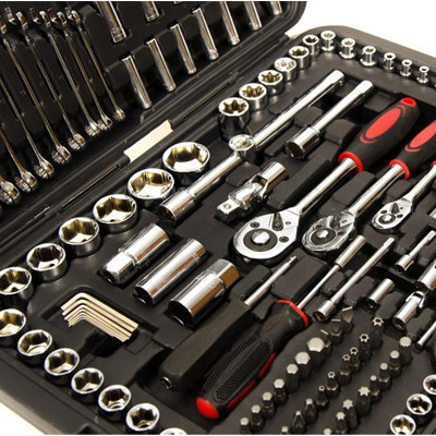 215пред. Набор торцевых головок наборы инструментов набор гаечных ключей