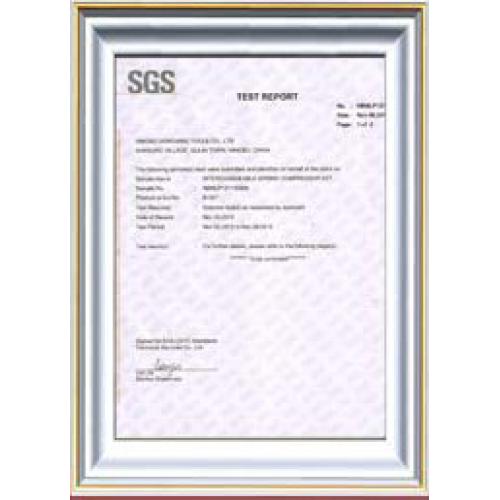 SGS of strut coil spring compressor