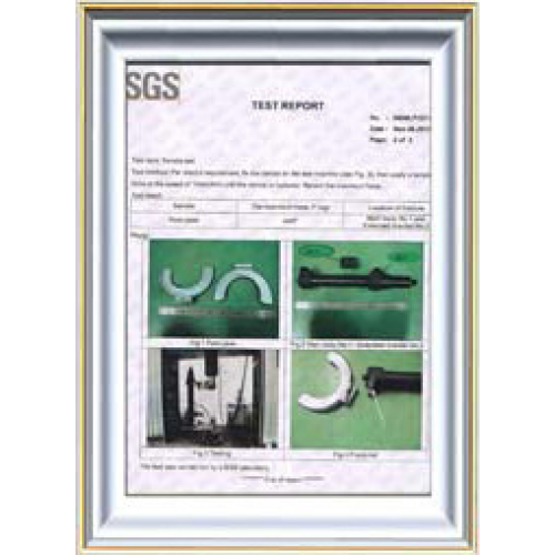 SGS of strut spring compressor