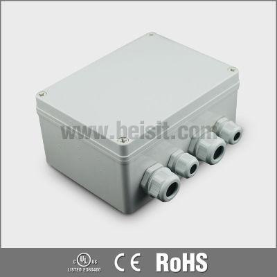 Electrical plastic box enclosure