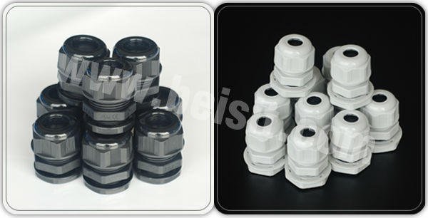 IP68 3/8 Npt Nylon Cable Gland