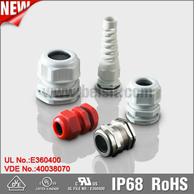 The Only Manufacturer Get UL, VDE Certificate For All Series Cable Glands in China Mainland