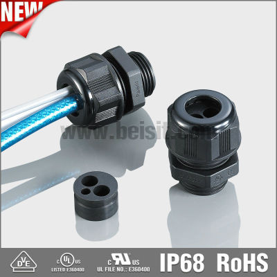 IP68 waterproof nylon cable gland m20