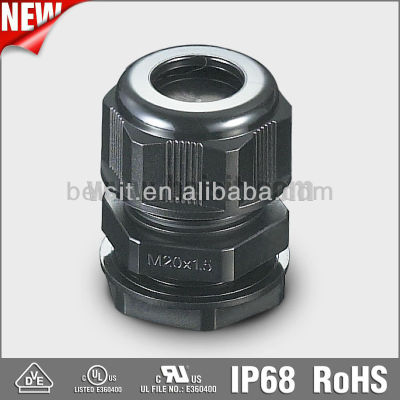 Waterproof metric plastic cable gland size