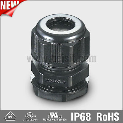 IP68 Plastic Waterproof M12 Cable Gland