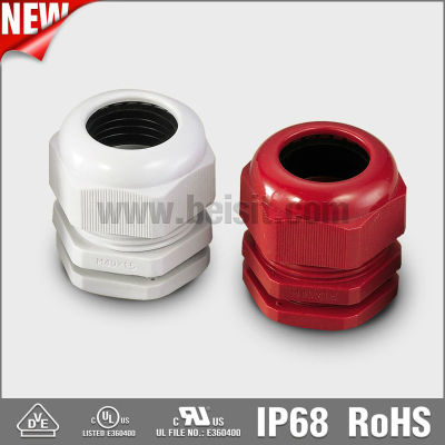 Electrical M Water Proof Blue Nylon Cable Gland