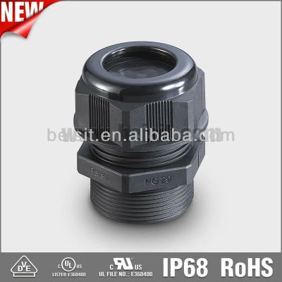 Nylon(PVC) compression cable connector