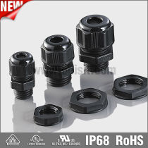 Hot Sale BV TUV BSCI ISO9001 PVC cable gland