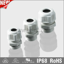 IP68 pg series plastic cable glands