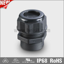 UL Waterproof Black PG Cable Gland with IP68, REACH, ROHS, from BEISIT