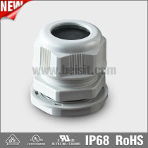 IP68 waterproof plastic cable fitting with UL VDE CE