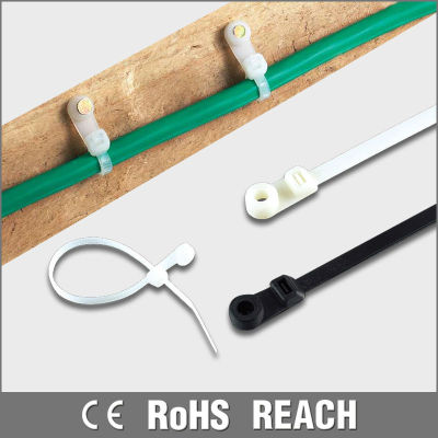 UL Approved Screw Mount Nylon Cable Ties
