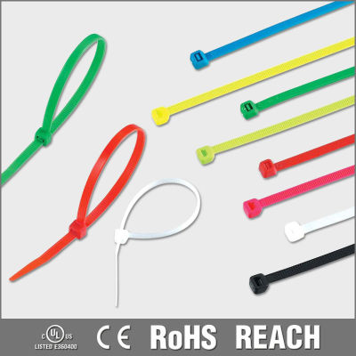 Coloured nylon cable ties, nylon 66/94v-2