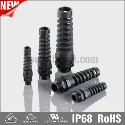 IP68 waterproof dustproof flexible cable glands