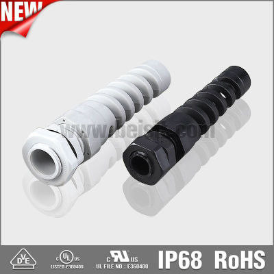 Newest design NPT type bend proof cable gland UL