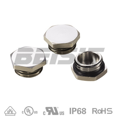 M type metal Hexagon screw plug