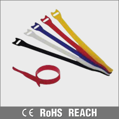 Various Colors Reusable Velcro Cable Tie