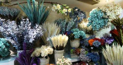 Artificial Flowers Market Yiwu