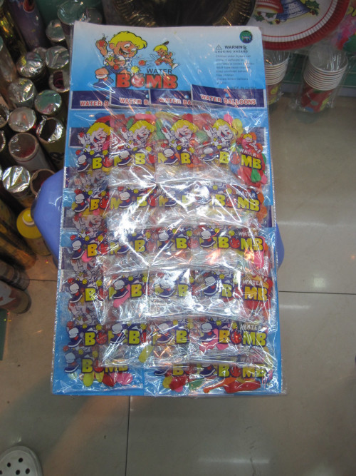 Water Balloon Wholesale Market Yiwu China