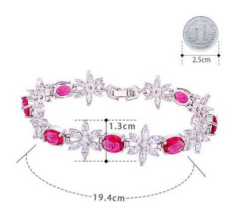 Fashion titanium steel bracelet