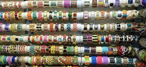 Fashion  bracelet Wholesale show rooms in YIWU China