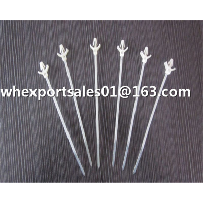 wing push mount cable tie mould