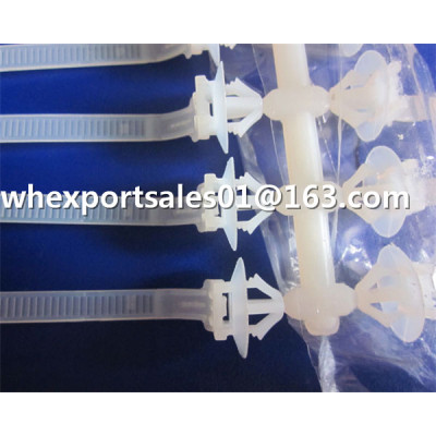Disposable Plastic Zip Binding nylon cable tie mould