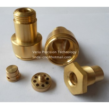 CNC Copper parts precision cnc turning machining parts
