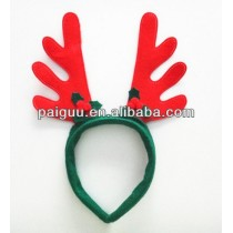 With Ear Brown Christmas Reindeer Antlers Headband