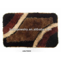 Shaggy bath mat set bath rug LZMAT00242